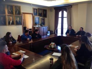 Δελτίο Τύπου για τη συνάντηση της Δημοτικής Αρχής με μαθητές του Μουσικού Γυμνασίου