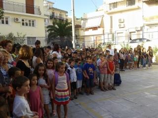 Στον αγιασμό του 2ου Δημοτικού Σχολείου συμμετείχε ο Δήμαρχος Ζακύνθου, Παύλος Κολοκοτσάς