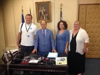 Δελτίο Τύπου του Δημάρχου Ζακύνθου για τη συνάντησή του με Ιταλούς τουριστικούς πράκτορες