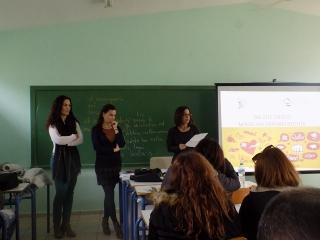 Δράση Ενημέρωσης-Ευαισθητοποίησης με θέμα την Έμφυλη Βία στους μαθητές της Γ' τάξης του Γενικού Λυκείου Κατασταρίου